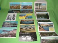 11 Vintage Linen, RPPC, Regular Postcards & 1-Booklet of Photos State of Oregon