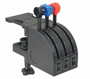 SAITEK PZ45 Pro Flight Throttle Quadrant Flight Controller - Currys