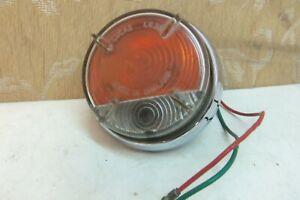 USED GENUINE LUCAS L632 AUSTIN A60 CAMBRIDGE MORRIS MINOR MGA INDICATOR LAMP