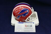 Marv Levy Signed Autographed Buffalo Bills Mini Helmet W/HOF 01 - SCH Auth