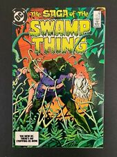 SAGA OF SWAMP THING #23 *HIGH GRADE!* (DC, 1984)  ALAN MOORE!!
