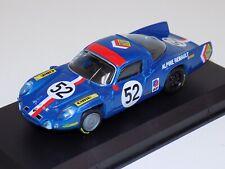 1/43 Top Model Collection Alpine Renault A210 1968 LeMans Car #52.  TMC 262