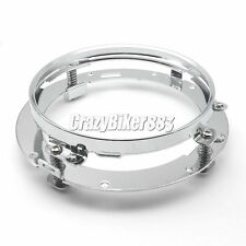 """7"""" LED Headlight Mounting Ring Fit Harley Street Glide FLHX Touring New"""