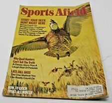 Sports Afield November 1974-Why Quail Hunters Can't Tell The Truth