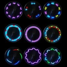 14 LED Motorcycle Cycling Bicycle Bike Wheel Signal Tire Spoke Light 30 Changes