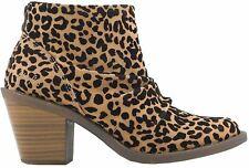 Blowfish Lagol Sahara Leopard Womens Ankle Boots