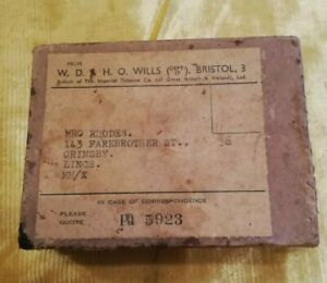 Wills tobacco Boxed Vintage Set Of Patience Cards By W.D. & H.O. Wills. 1933.
