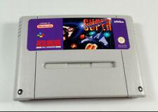 Strike Gunner - Super Nintendo SNES PAL UK Spiel Nur Modul VGC Sammler Sammlung