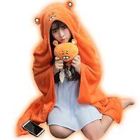 Himouto! Umaru-chan Otaku Cosplay Costume Blanket Flannel Hoodie Cloak Cape