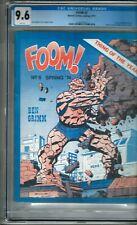 """FOOM #5 (1974) CGC 9.6  White Pages  Buckler - Sinnott  """"Thing - Deathlok"""""""