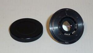 Soviet Russian Lens A-4 For Spy KGB AJAX-9/ F21 camera 28mm f/2.8 #01988