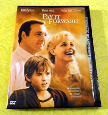 Pay It Forward ~ New DVD Movie ~ 2000 Kevin Spacey Helen Hunt ~ Rare Snap Case