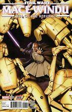 Star Wars Mace Windu #1 Jedi Marvel Comic 1st Print 2017 Nm ships in T-folder