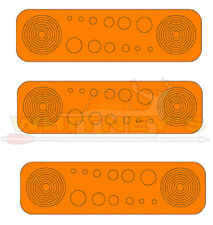 Specialty Archery Circles and Dots Orange Aiming Decals For Scope Lenses #614O