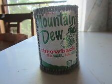 MOUNTAIN DEW PLASTIC CANVAS CAN COZIE MADE OUT OF A MOUNTAIN DEW THROWBACK CAN