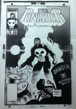 PUNISHER # 6  2nd Series  MIKE MIGNOLA   COVER ART TRANSPARENCY