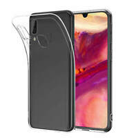 For Samsung Galaxy A40 A50 Clear Gel Case New Silicone Slim Ultra Thin TPU Cover