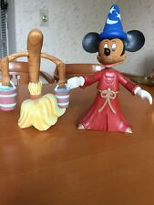 "Walt Disney Mickey Mouse Fantasia the Sorcerer's apprentice  figure 11""W Bloom"