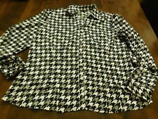 East 5th Black/Gray/White Top Size XL