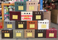 4 Pieces Western Star 2200 Egyptian Bed Sheet Set Deep-Pocket- QUICK SHIPPING!!!