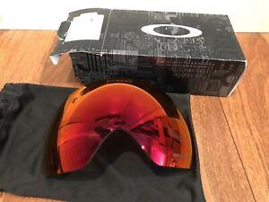 NEW Oakley Flight Deck Snow Goggles Prizm Torch Iridium Replacement Lens