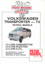 Workshop Manual VW Transporter Bus T4 Petrol 1996-1999 Service Repair