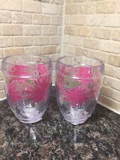 TERVIS Stemless Wine Glass ~ 9 oz ~ Set of 2