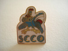 PINS RARE VINTAGE COQ CLUB SKATING COMPIEGNE PICARDIE OISE SCCO COCK wxc h