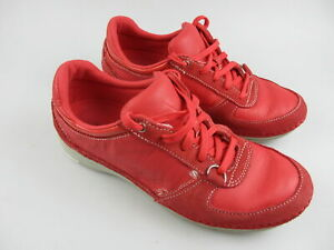Women's ROCKPORT 'V77462' Sz 7.5 US Shoes Red Grey ExCon | 3+ Extra 10% Off