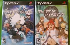 Tales of the Abyss and Legendia - Playststion 2 Games PS2 - Complete - RPG