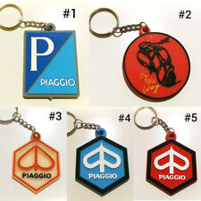 RUBBER LOGO VESPA MOTORCYCLE KEYCHAIN KEY RING COLLETABLES GIFT