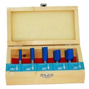 Lobinger® 5 HM Fräser Oberfräser mit 8mm Schaft für Oberfräse