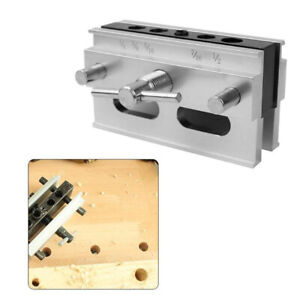 Woodworking Self Centering Dowel Jig Kit Drill Guide Set  Locator