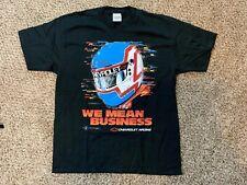 Vintage Chevrolet Racing T Shirt 90s Sports Image XL USA Nice Man Nascar