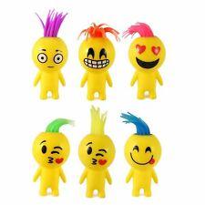 HENBRANDT 12 X Squeezy Smile Face Man Emoticon Emoti Light Up Friend 10cM