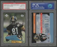 TROY EDWARDS RC - PSA 9 MINT - 1999 COLLECTORS EDGE ODYSSEY # 116 - STEELERS WR