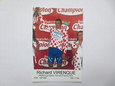 wielerkaart 2003  team quick step richard virenque