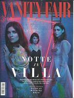 Vanity Fair Italian Magazine Young Actresses Fashion Matt Damon Melissa Benoist
