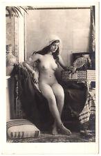 Lehnert & Landrock NUDE ARAB GIRL N°115 NACKTE ARABERIN * Vintage 20s Photo PC