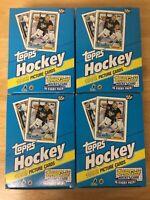 1992 TOPPS HOCKEY WAX BOX: FOUR BOX LOT (from fresh case)