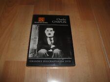 CHARLIE CHAPLIN DOCUMENTAL DE GRANDES BIOGRAFIAS EN DVD NUEVO PRECINTADO