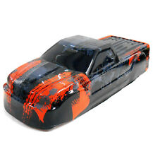BS908-008R 1/10 Scale RC Nitro Monster Truck Body Shell Cover Red / Black