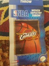 CLEVELAND CAVALIERS NBA WOVEN TAPESTRY THROW 48 X 60 NEW