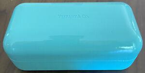 Tiffany and Co Eye Glass Case Sunglasses Hard Case Holder Large - No Cloth
