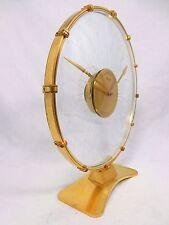 """Beautiful KIENZLE """"SONNENRAD"""" Design Stupendo OROLOGIO DA TAVOLO DESK CLOCK orologiaio esaminato"""