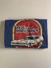 Vintage NHRA 1975 Nationals INDY Blue Max Funny Car T-Shirt