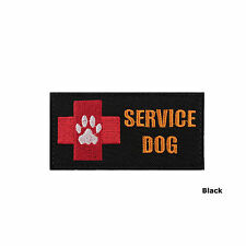 Red Cross EMS Medical Pet Service Dog Patch (3 Colors Option)