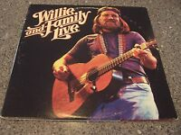 """Willie Nelson """"Willie and Family Live"""" 2 LP SET"""