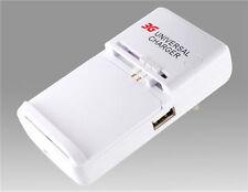 Cargador Universal 3G de Red USB para Baterias de Moviles y Camaras de Fotos