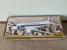 New Flyzone Micro Douglas DC-3 Airliner Electric EP Ready to Fly RTF RC Airplane